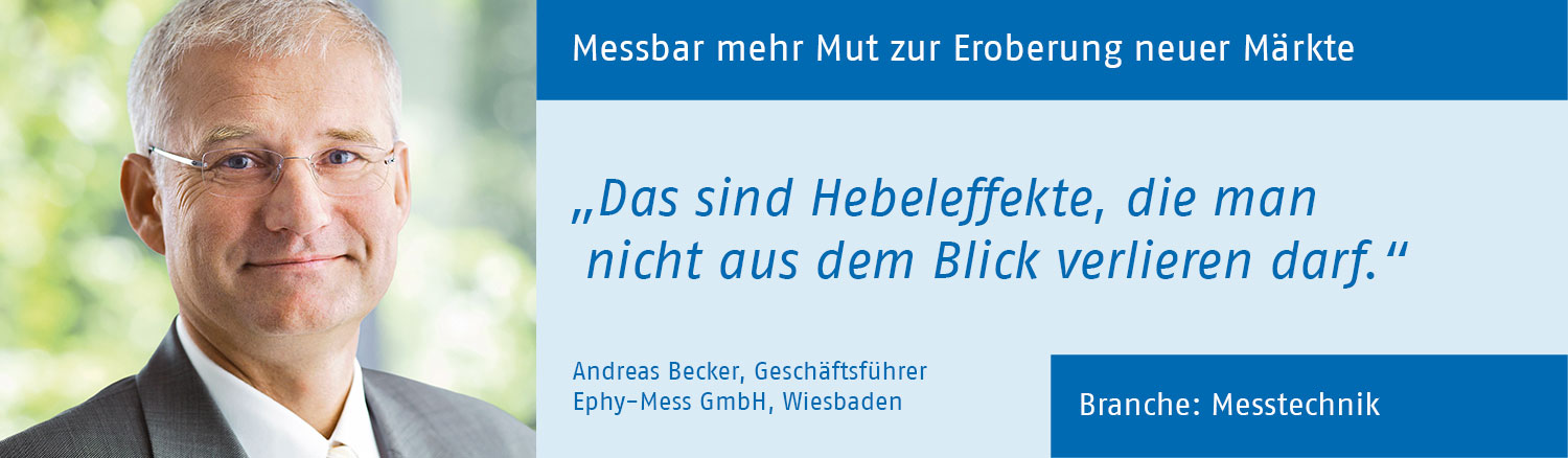 Andreas Becker, Ephy-Mess GmbH