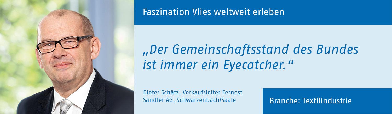 Dieter Schätz, Sandler AG
