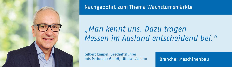 Gilbert Kimpel, mts perforator GmbH