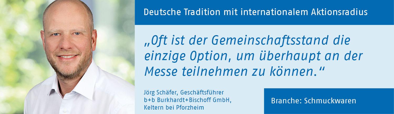 Jörg Schäfer, Burkhardt+Bischoff GmbH