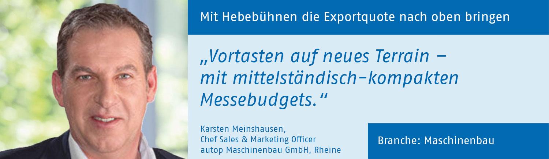Karsten Meinshausen, autop Maschinenbau GmbH