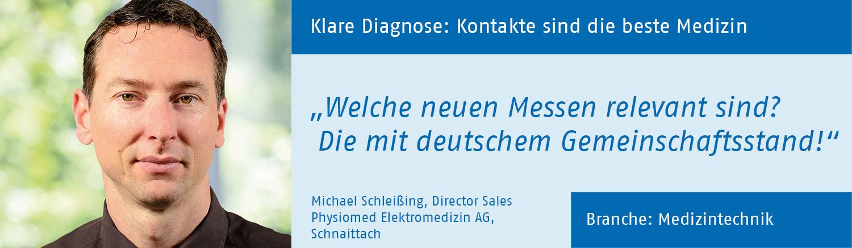 Michael Schleissing, Physiomed Elektromedizin AG