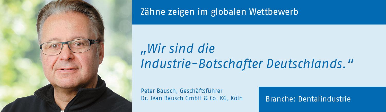 Peter Bausch, Dr. Jean Bausch GmbH
