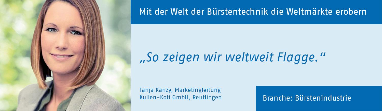 Tanja Kanzy, Kullen-Koti GmbH